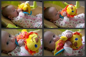 Review: BrightStarts teethers fun, good for babies