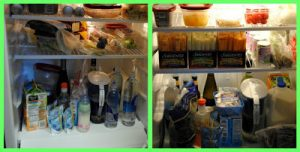 Our Extreme Fridge Makeover project with Sargento