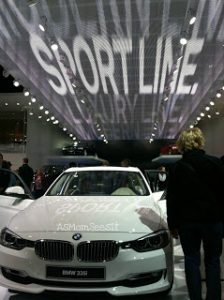 My first Detroit Auto Show experience