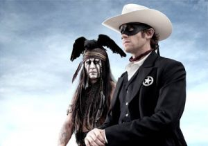 First look: Johnny Depp in The Lone Ranger!