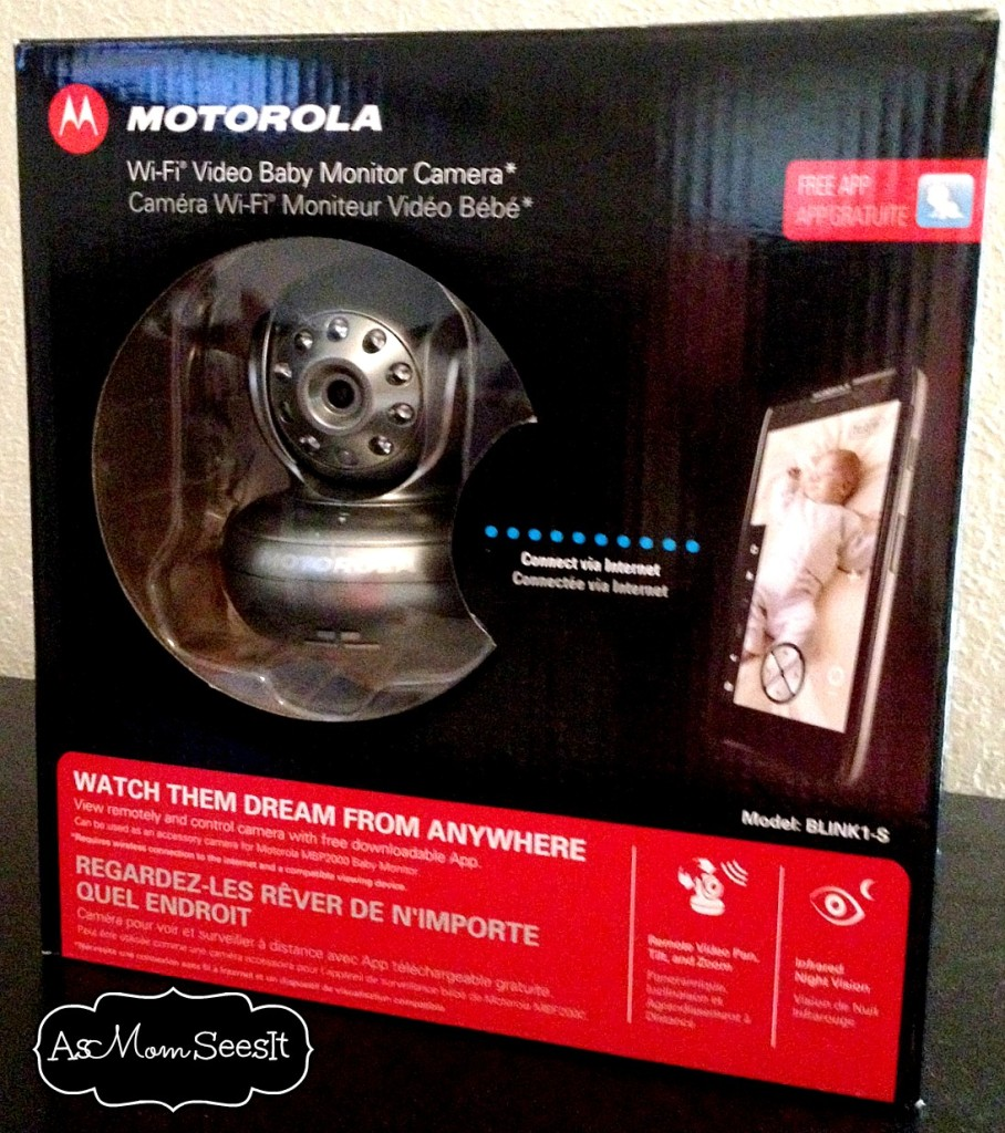 new baby monitor from motorola allows viewing at home and beyond. Black Bedroom Furniture Sets. Home Design Ideas