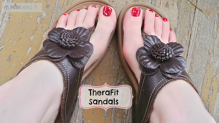 Therafit sandals review-top