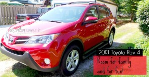 2013 Toyota Rav4 review – view from a parent