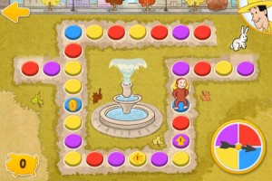 Curious George's Town educational and fun app for preschoolers