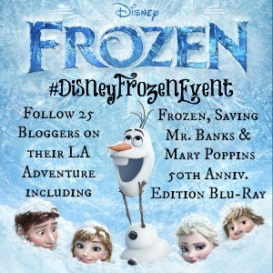 I'm heading to LA for a #Disney red carpet event! #DisneyFrozenEvent