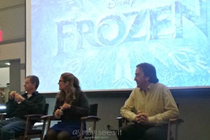 Behind the camera: Backstage of Disney's Frozen #DisneyFrozenEvent