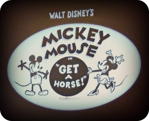 Get A Horse: Disney's new classic with an old twist #DisneyFrozenEvent