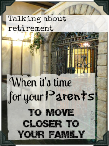 How to talk to your parents about moving closer to home #GenworthHoliday