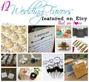 12 Wedding Favors Featured on Etsy We Love