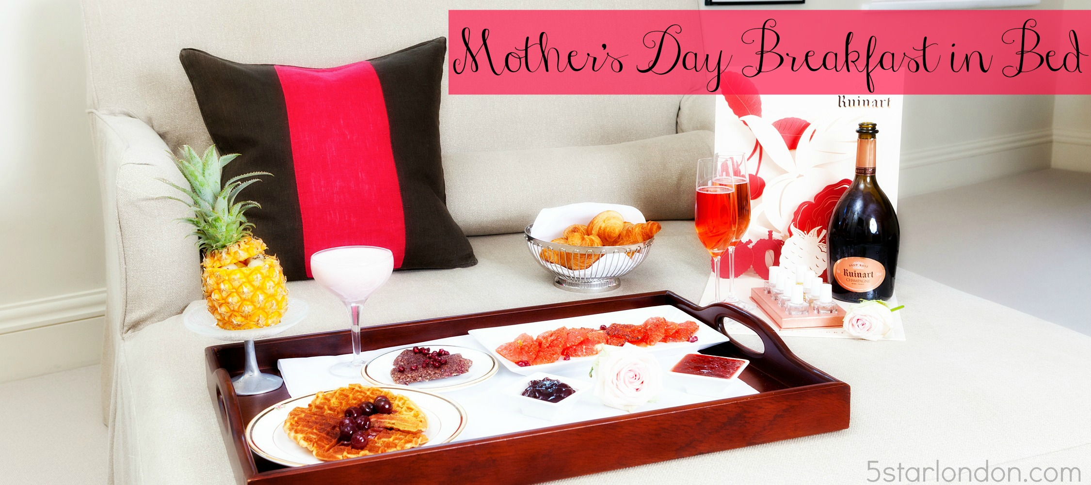 Mother 39 s day breakfast in bed a checklist and ideas as for Good ideas for mother s day breakfast in bed