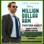 Join Us For The #MillionDollarArmEvent Twitter Party!