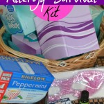 My Allergy Survival Kit And Tips For Your Little Ones #SneezingTime