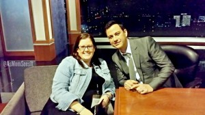 Backstage At Jimmy Kimmel Live And Cursing Celebrities #ABCTVEvent