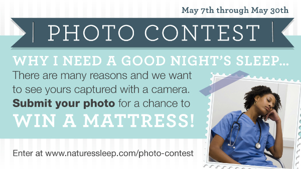 Enter To Win A Nature's Sleep Memory Foam Mattress | As Mom Sees It
