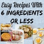 Cooking Simple: Recipes with 6 Ingredients (Or Less)