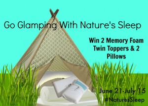 Enter To #Win A Set of Nature's Sleep Memory Foam Toppers & Pillows #NaturesSleep