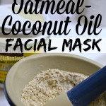 Stress Relief: DIY Oatmeal Coconut Oil Mask