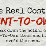 The Real Cost Of Rent-To-Own For Household Items: Is It Worth It?