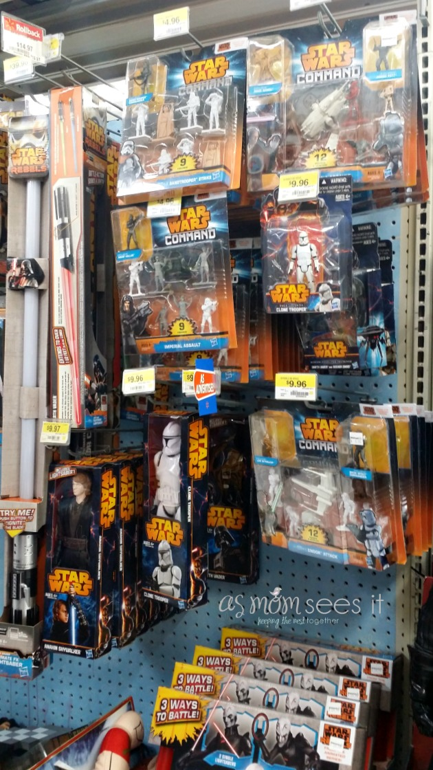Star Wars Toys Walmart : Use the force at walmart to sparkrebellion with star wars