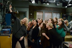 Exclusive Photos: Set Visit With ABC Family's Baby Daddy   #ABCFamilyEvent