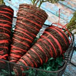 Rustic Decor Craft: Twine Carrots For Easter