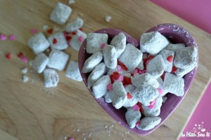 Valentine's Day Puppy Chow Recipe