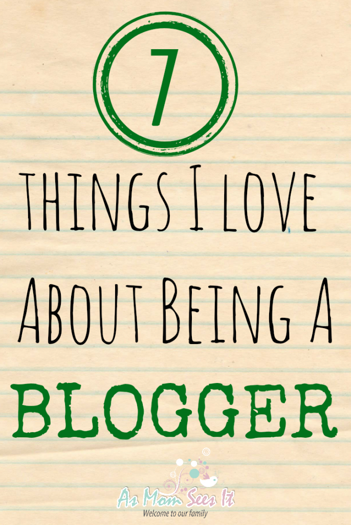 being a blogger