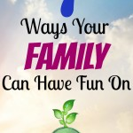 7 Ways Your Family Can Have Fun On Earth Day! #earthday