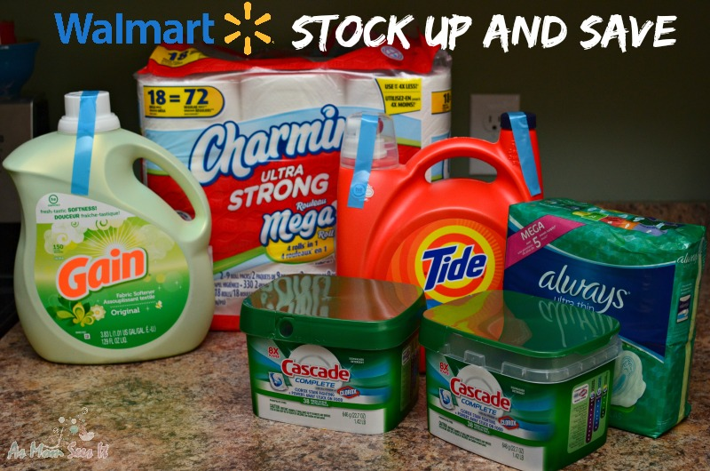 Walmart Stock Up With P&G