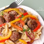 Summertime Sausage And Pepper Pasta Recipe