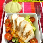 Grilled Chicken Salad with Avocado Dressing Recipe