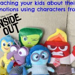 Learning About Emotions With Inside Out, Plus Fun Craft For Kids #InsideOut