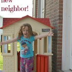 Little Tikes Cape Cottage Playhouse: We Have New Neighbors!
