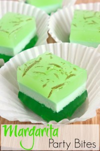 Jell-O Layered Margarita Party Bites Recipe