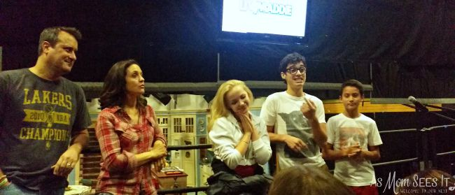 Liv and Maddie Set visit