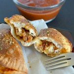 Frigo® Cheese Heads® Easy Mini Calzones With Marinara Recipe