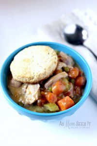 Comfort Food: Homestyle Slow Cooker Chicken Pot Pie Recipe