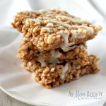 Pumpkin Pie Spice Rice Krispie Treats Recipe