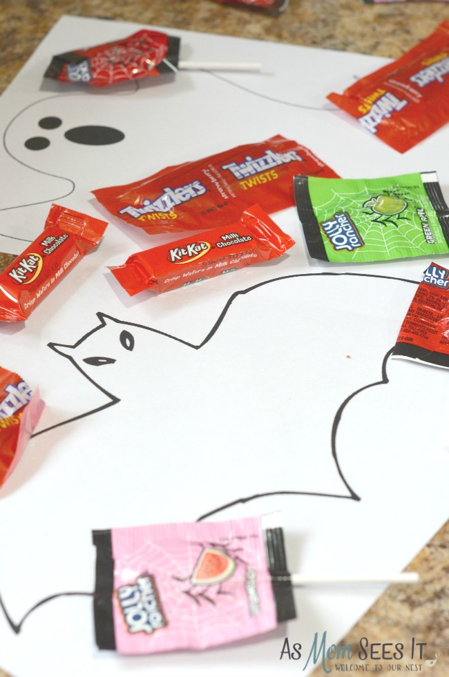 Free Halloween Candy Holder Templates