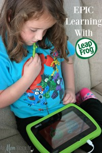 Epic Learning For Young Ones With LeapFrog Epic Tablet #LeapFrogEpic