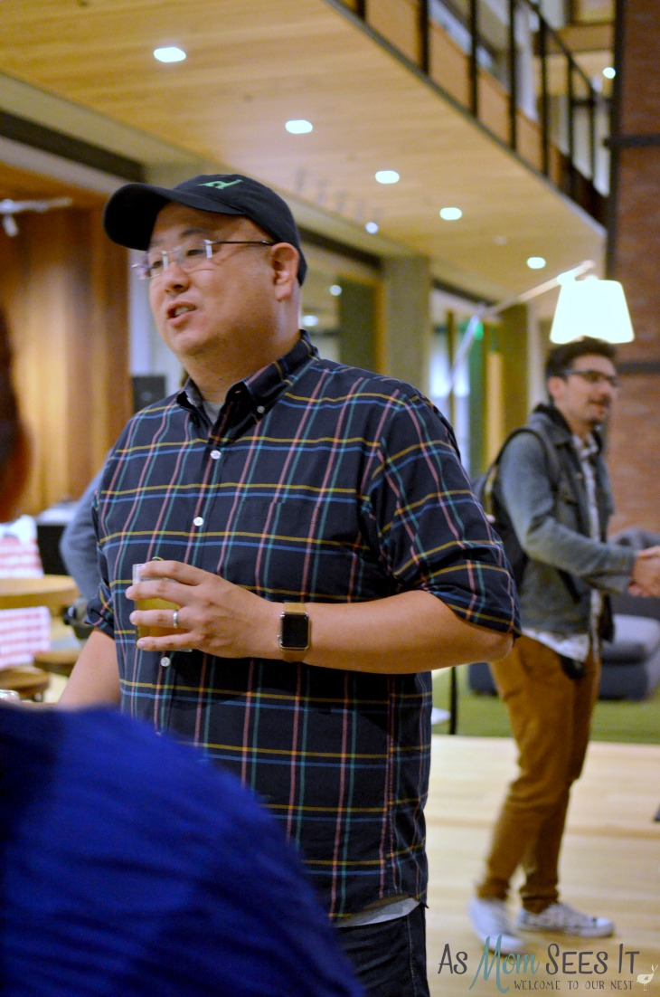 The Good Dinosaur director Pete Sohn talking about his research trip