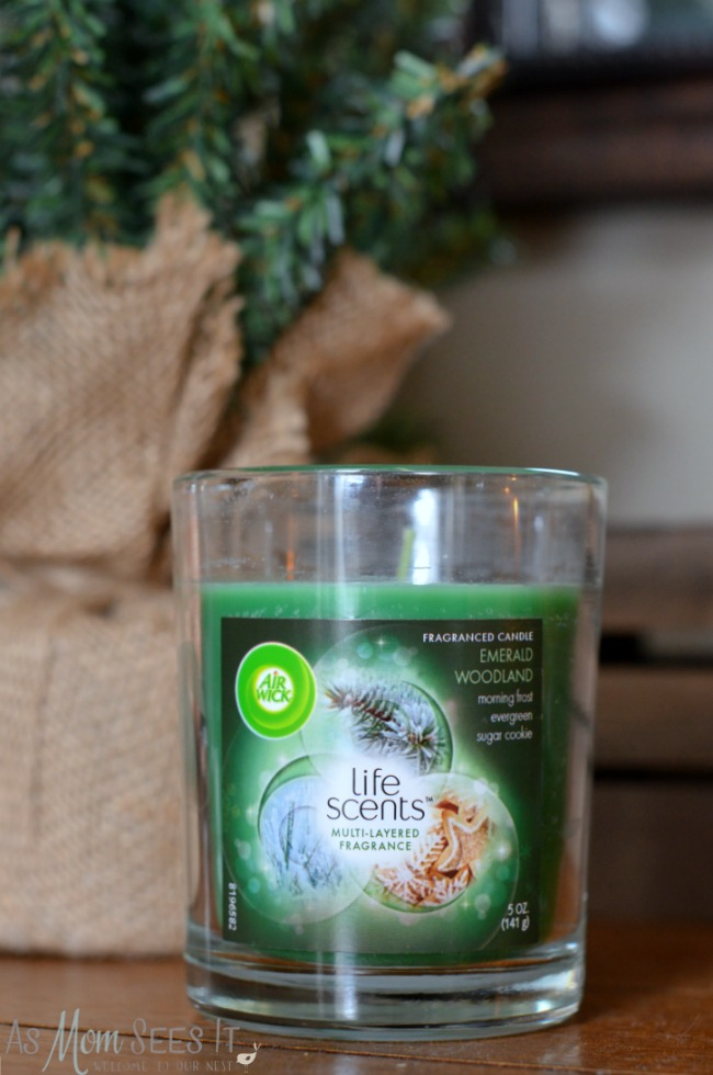 Air Wick Emerald Woodland scent