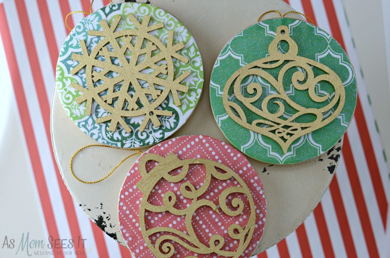 DIY 3D Christmas Ornaments