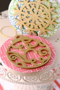 DIY 3D Christmas Tree Ornament Craft