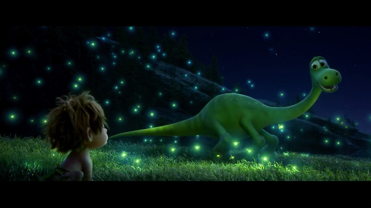 The Good Dinosaur opening in theaters Thanksgiving