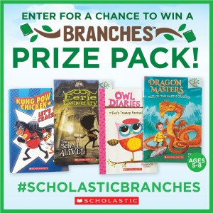 New Book Series For Growing Readers: Check Out #ScholasticBranches