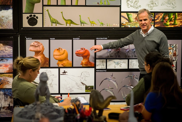 The Good Dinosaur world is created for the big screen