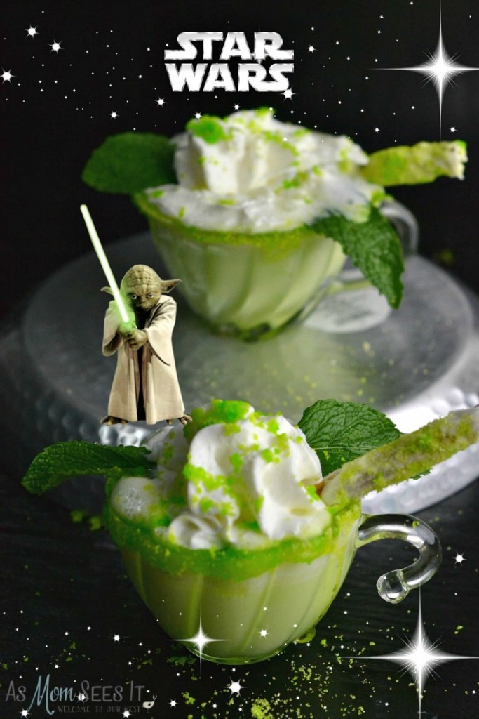 Yoda Mint Hot Chocolate
