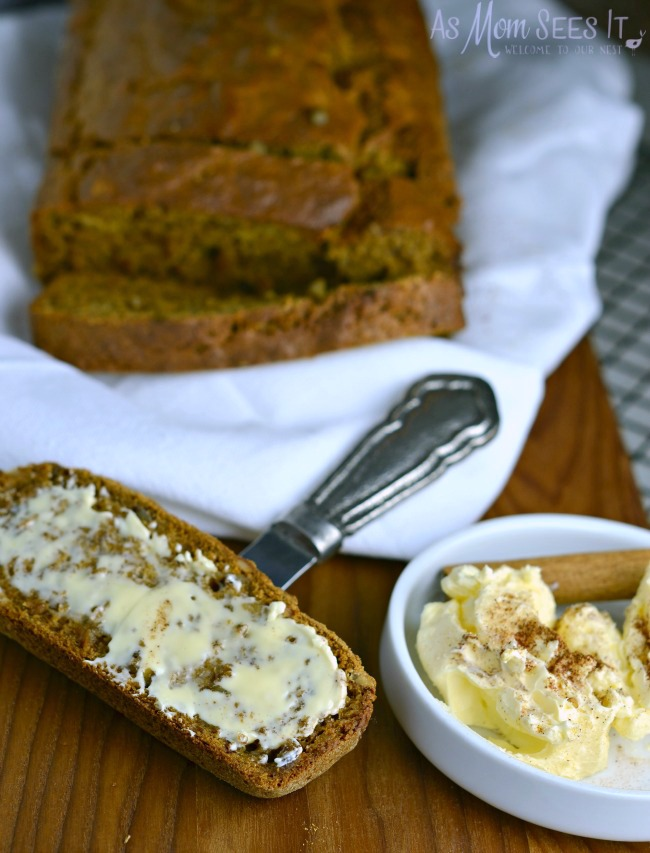 A delicious banana bread that you can't resist