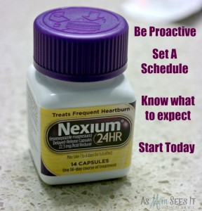 An Unexpected Addition To My Daily Routine: Heartburn Prevention With Nexium 24HR